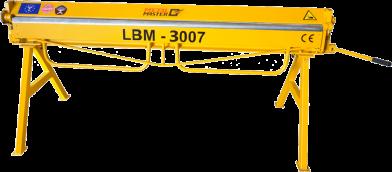 Листогибы, Ручной листогибочный станок Metal Master LBM 3007